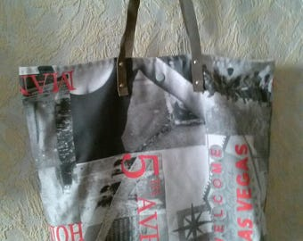 Lightweight fabric tote bag