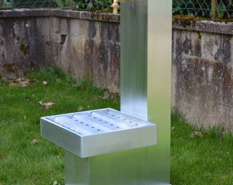 Zinc 0.8 Misterzinc THISTLE garden fountain