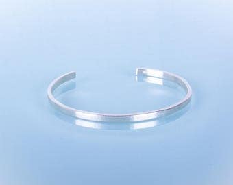 Brushed Sterling Silver Cuff