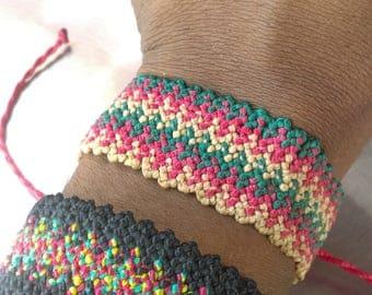 Walk of the Incas Wide bracelet