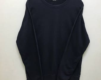 Rare!!! Comme Ca Jeans Sweatshirt Spellout Embroidered