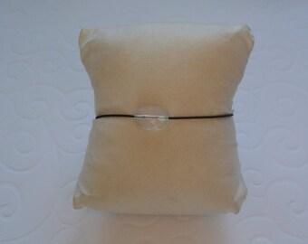 Cushion Transparent cord bracelet