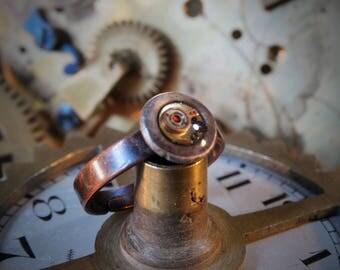 Unique Steampunk ring