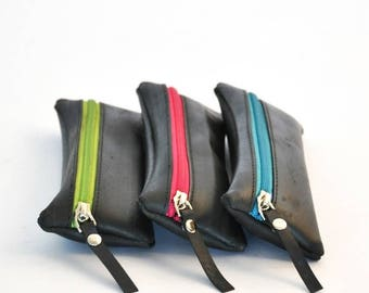 TUTTI pouch with zipper closure