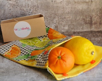 Bag reusable washable, reusable snack bag, bag reusable Sandwich and snack bag, lunch bag, waterproof, washable, fruit