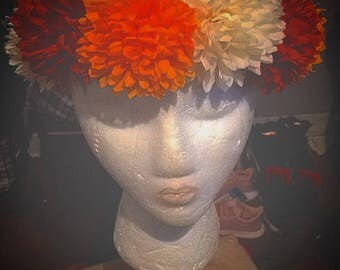 Autumn Floral Headband