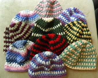Crochet Adult Bubble Hat