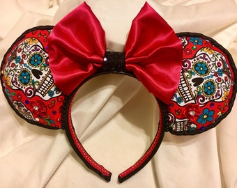 Coco Inspired Day of the Dead Ears