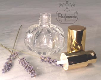 30 ML. 1 oz. Glass Refillable Atomizer Pumpkin Shape PERFUME Cologne Bottle Gift Wholesale Sprayer Atomizer Bottle Beautiful Holiday Gift