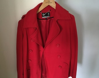 Austin Reed woman's red coat