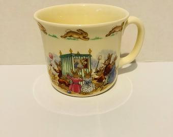 Royal Doulton Bunnykins Punch & Judy Mug