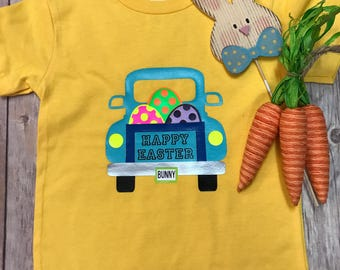 Truckin' Into Easter Toddler and Youth Tee