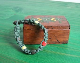 "Ceramic bracelet ""shamballa"" Earth and jewelry"