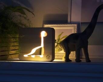 Dinosaur lamp Etsy