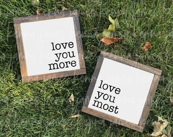 Love You More Love You Most svg   I Love You svg   Love You svg   Love svg   Couple svg   Farmhouse svg   SVG   DXF   JPG   cut file