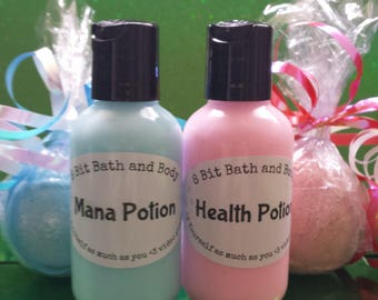 Recovery Set- Health and Mana Lotion Sets