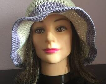 Summer hats, crochet summer hat