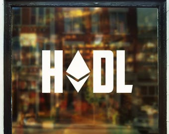 HODL Ethereum Decal
