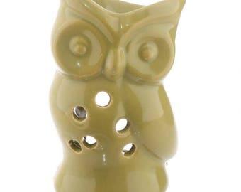 Oil burner ceramic OWL Green