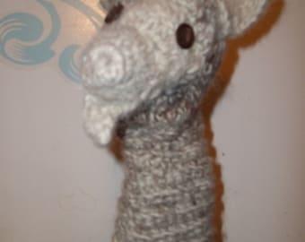 Hand Puppet Alpaca