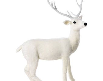 Raz Imports 66'' Blanche White Deer RAZ3771552