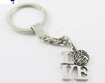 Netball Love Netball Charm Keychain Coach Sports End Of Season Gift