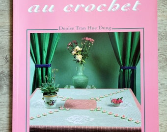 Crochet tablecloths book