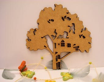 Tree 260 embellishment wooden creations