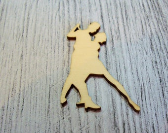 Dancer 1257 embellishment wooden creations