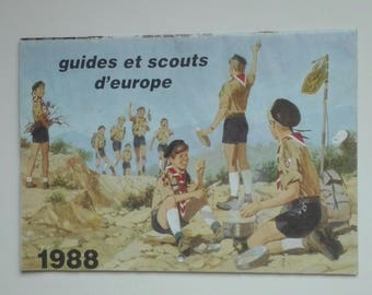 CALENDAR guides and Scouts in Europe 1988