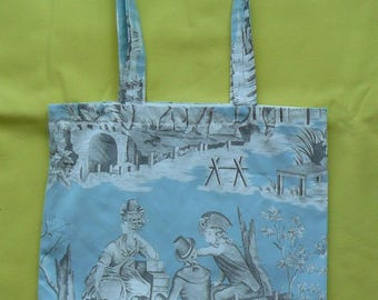 tot bag or tote bag fabric patterns, wearing the shoulder