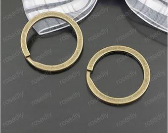 10 bronze 30MM Keyring D25285