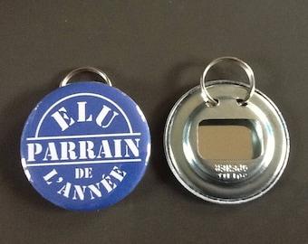 """Door keys/bottle opener """"elected official sponsor of the year"""""""