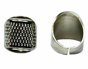 The beadwork steel ring
