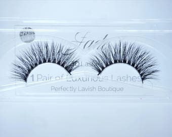 LAVISH Natural Mink Eyelashes (Jade)