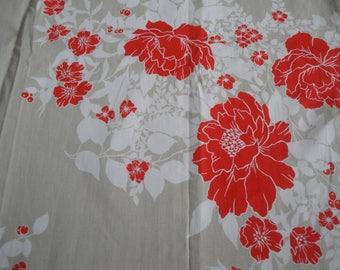 Floral printed cotton Poplin coupon