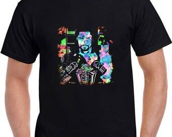 Roman Reigns Abstract T Shirt (Wwe , monday night raw , the shield , champion, wrestlemania)