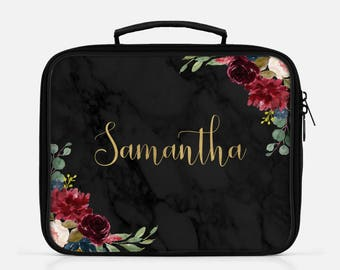 Marble Lunch Box Lunch Bag Personalized Lunch Lunchbox Marble Lunch Box Black Marble Cute Lunch Box Graduation Gift Lunch Box For Women