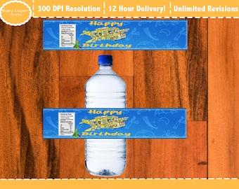 Magic School Bus Water Bottle Labels, Magic School Bus Printable Bottle Labels