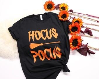 Hocus Pocus Shirt - Halloween Shirt - Witch Shirt - Funny Halloween Shirt - Its Just A Bunch Of Hocus Pocus - Halloween Outfit - Halloween