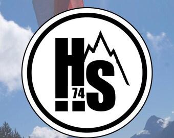 Round stickers HS74