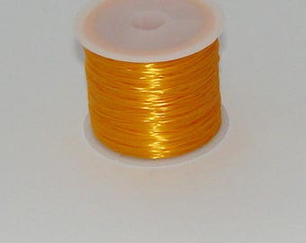 5 m elastic yellow 0.8 mm thick
