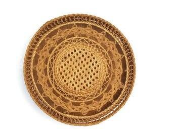 Lidded Boho Basket