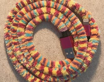 iPhone Charging Cable 3ft | Fruity Pebbles iPhone Lightening Charging Cord