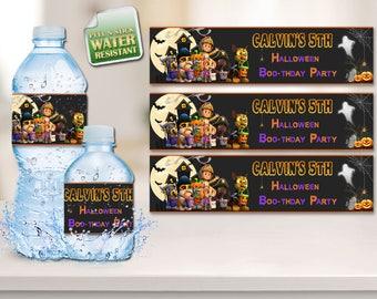 Paw Patrol, Paw Patrol Halloween, Paw Patrol  Labels, Paw Patrol Halloween Labels, Paw Patrol Halloween Party, Bottle Labels, Labels