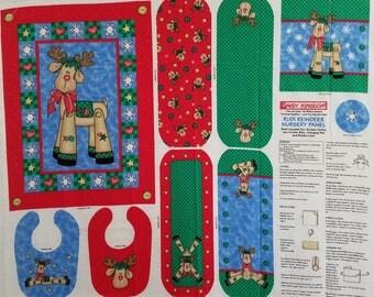 Rudi Reindeer Nursery Panel