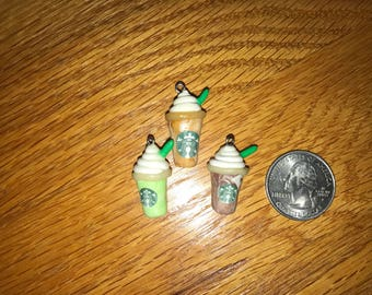 Starbucks Polymer Clay Charms