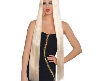 "Wig/adult wig/36"" Lavish Blonde Wig"