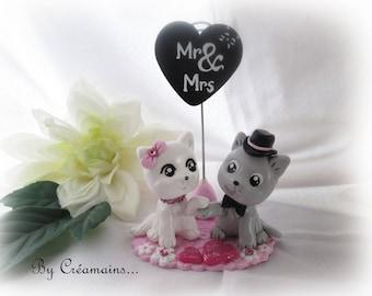 Cats - Cake Topper wedding cake subject