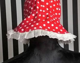 Hat with polka dots baby Lulupidoo